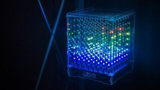 8x8x8 Programmable LED Cube!(Building an 8x8x8 LED cube may sound daunting, but this kit we found at Maker Faire simplifies the process with a clever design. We chat with Looking Glass' ..., 2015-05-22T16:23:37.000Z)