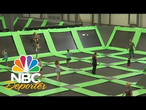 Saltando como el hombre araña por las paredes | NBC Deportes.com | NBC Deportes
