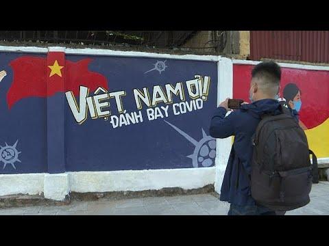 شاهد: جداريات ملونة للتوعية بالوقاية من كوفيد-19 في فيتنام…  - 06:53-2021 / 6 / 20