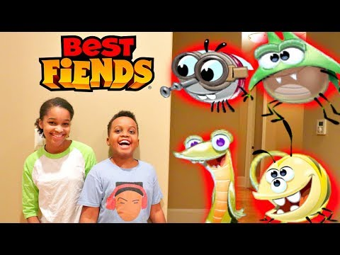 Shiloh and Shasha with BEST FIENDS! - Onyx Kids
