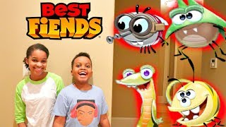 Shiloh and Shasha with BEST FIENDS! - Onyx Kids thumbnail