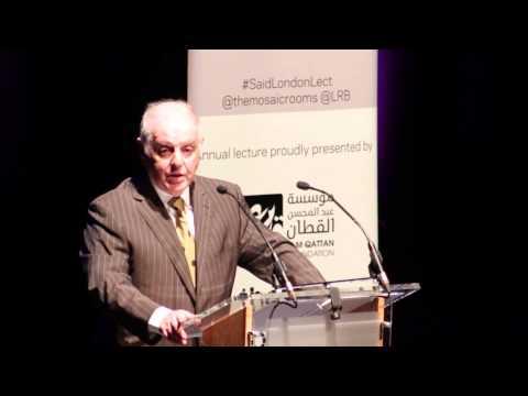 Daniel Barenboim's Edward W. Said Lecture (2015)