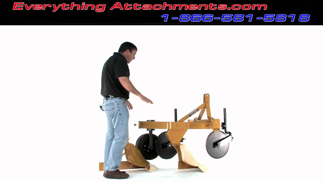 Everything Attachments 2 Bottom Plow