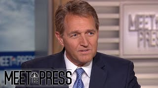 Jeff Flake: Republican Party Doesn't Have To Be The 'Party Of Trump'   Meet The Press   NBC News