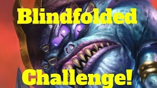 Blindfolded Challenge! Who needs to see the cards! [Hearthstone Game of the Day]