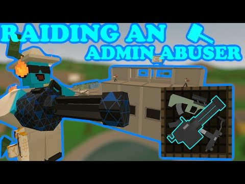 Unturned - RAIDING AN ADMIN ABUSER! - LUCKIEST AIRDROP EVER! - EPIC LOOT!