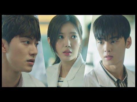 다칠뻔한 임수향(soo hyang)에 동시에 손 뻗는 차은우(eun woo)-곽동연(dong yeon) (양각인데?!) 내 아이디는 강남미인(Gangnam Beauty) 3회
