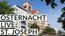 Feier der Osternacht mit Erzbischof Dr. Heiner Koch aus St. Joseph