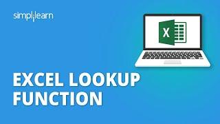 Excel Lookup Function | Excel Lookup Formula Explained | Excel Tutorial For Beginners | Simplilearn