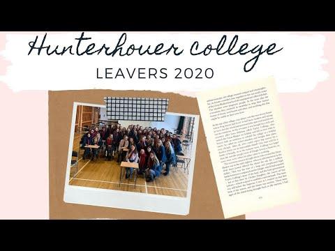 Hunterhouse College Leavers 2020