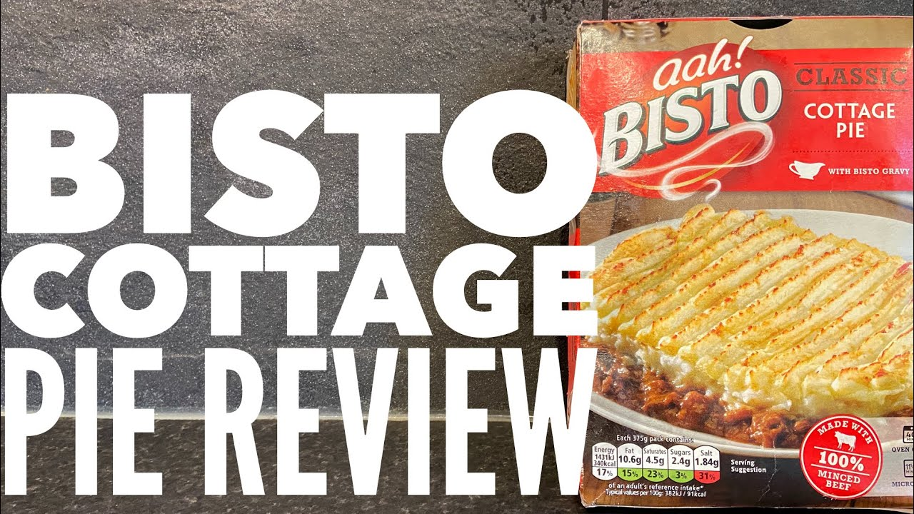 Aah Bisto Classic Cottage Pie Review Youtube