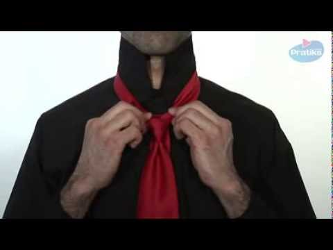 wie bindet man eine krawatte der merowinger knoten youtube. Black Bedroom Furniture Sets. Home Design Ideas