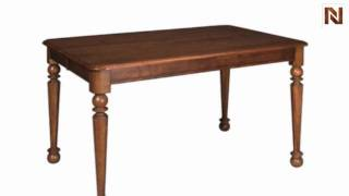 Kincaid 68-058 American Journal Tall Dining Table-stain