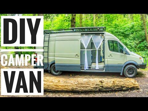 Introducing Our Custom DIY Sprinter Campervan! #Vanlife