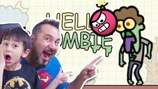 HELLO ZOMBİE! REDBALL İLE ZOMBİ PATLATMAK! | HELLO ZOMBİE MOBİL OYUN