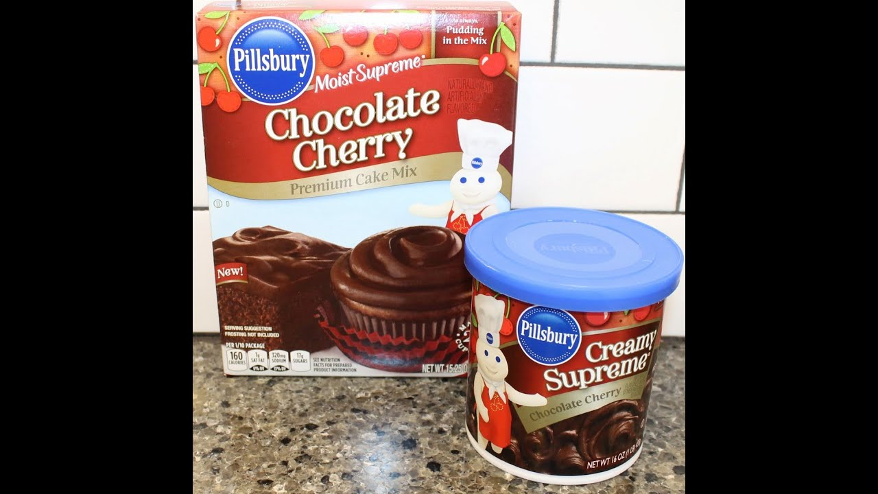 Pillsbury Chocolate Cherry Cake Mix