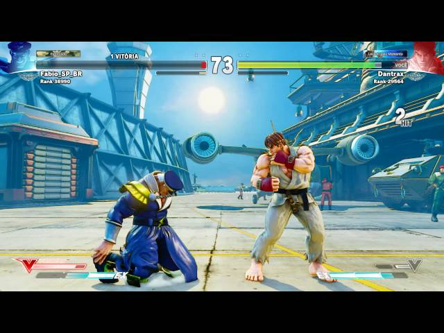 Street Fighter V Ragequit: Fabio_sp_br