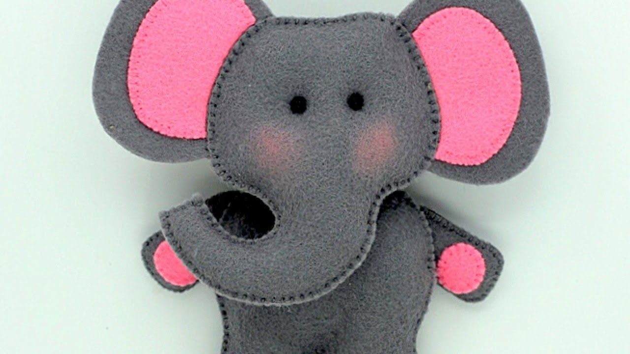 Make a cute stuffed felt elephant diy crafts guidecentral make a cute stuffed felt elephant diy crafts guidecentral youtube jeuxipadfo Choice Image
