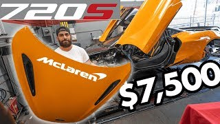 RDBLA MCLAREN 720S CRAZY PROJECT CULLINAN BLACK OUT MOSES GETS DRAGGED
