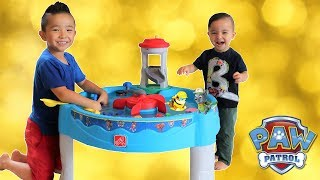 Paw Patrol WATER TABLE Unboxing Fun With Ckn Toys thumbnail