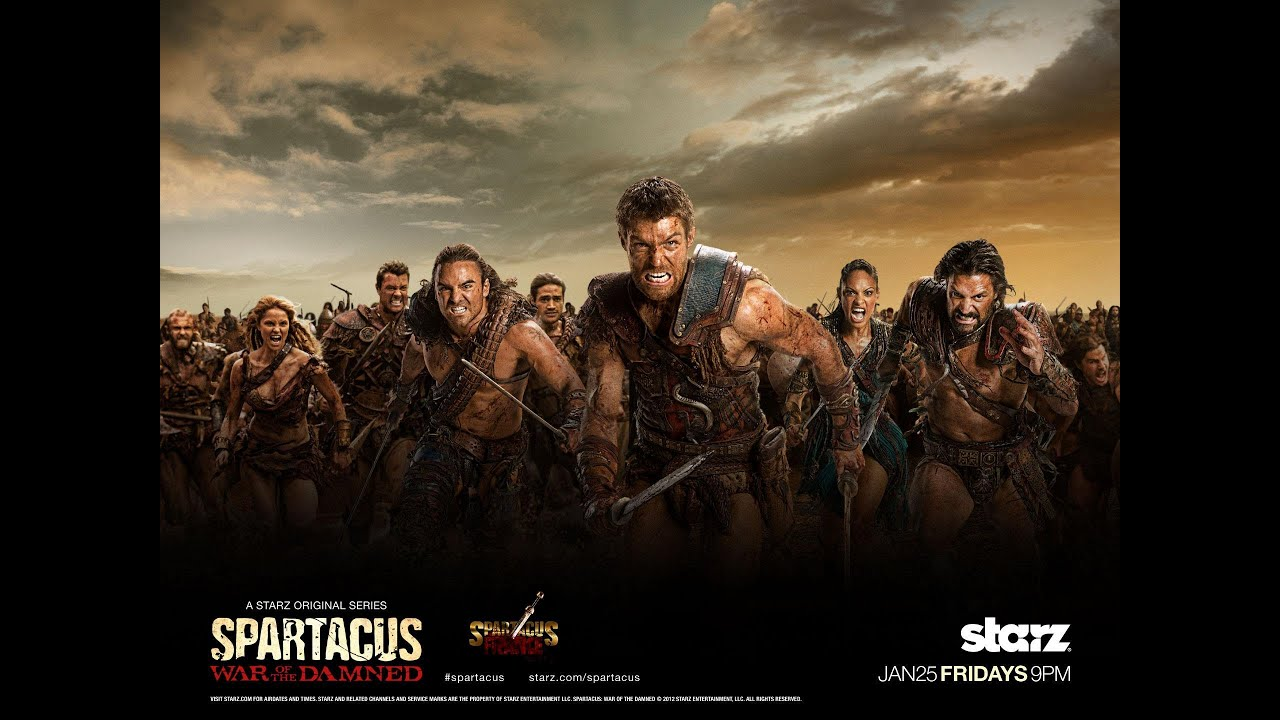 Spartacus TV Series - Behind the Scene - YouTube