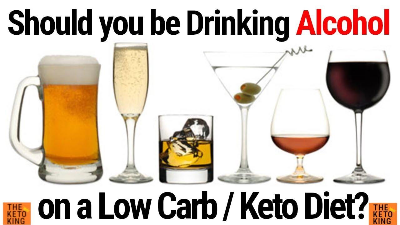 drinking vodka on keto diet