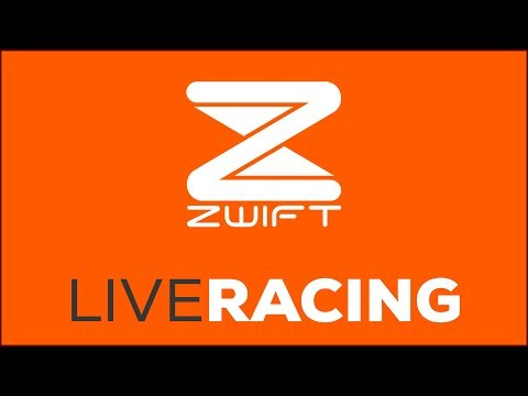 LIVE - Zwift Racing With The Vegan Cyclist and BAD FITNESS