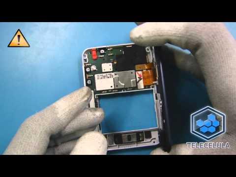 Tutorial de Desmontagem Motorola MB502 - Telecelula