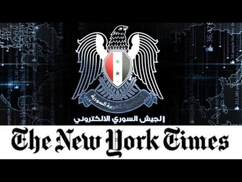 New York Times Attacked by Syrian Hackers