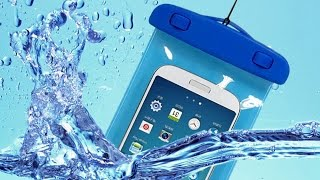 PVC Waterproof Phone Case Underwater Phone Bag Pouch Dry - Test
