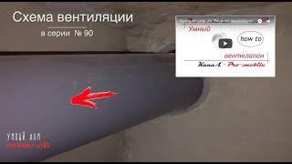 Умная вентиляция - без умных устройств. Реализация проекта.  Серия 105