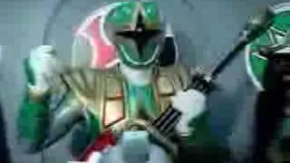 Ninja Storm and Dino Thunder Megazords