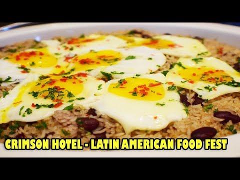 LATIN AMERICAN FOOD FEST AT CRIMSON HOTEL FILINVEST CITY