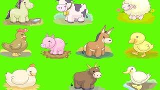 Сборник Как Говорят Животные Развивающее Видео Для  Детей