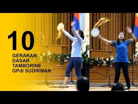 10 Gerakan Dasar Tamborine / Rebana di GPdI Sudirman