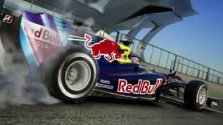 Formel 1 2010: Sebastian Vettel im Red Bull-Fahrsimulator Fo