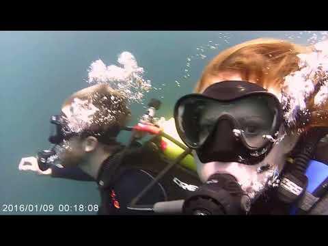 Scuba diving at Gilboa