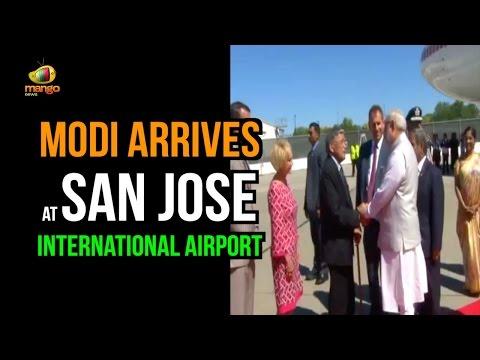 PM Narendra Modi Arrives at  San Jose International Airport : California | Digital India