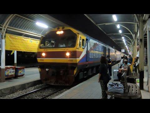 รถไฟไทย # ขบวนรถเร็วที่ 167 กรุงเทพ - กันตัง  State Railway of Thailand