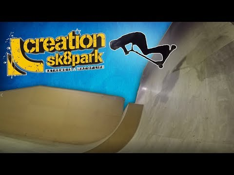 GoPro Chest Mount Scootering At Creation Skate Park In Birmingham