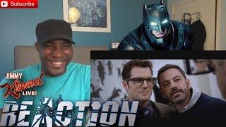 """Deleted Scene from """"Batman v Superman"""" Starring Jimmy Kimmel REACTION! thumbnail"""