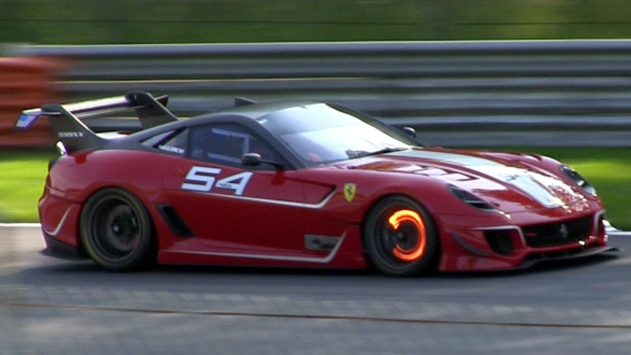 Ferrari F12 Hd Wallpapers 2012 Ferrari 599xx Evoluzione Pure Sound Amp Glowing Brakes