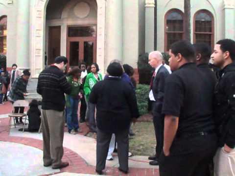 #14. Valdosta State University NAACP Chapter, Rev. Martin L. King, Jr., {KVCI. On Location}