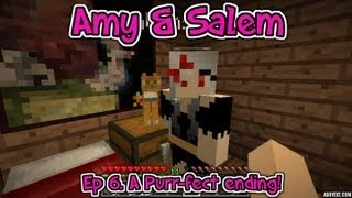 Minecraft Pc Amy & Salem Ep 6. A Purr-fect Ending!