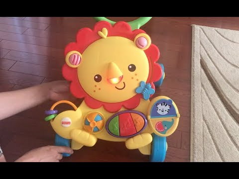 Musical Lion Walker   Learning To Walk   Baby Toy Unboxing   Fisher Price