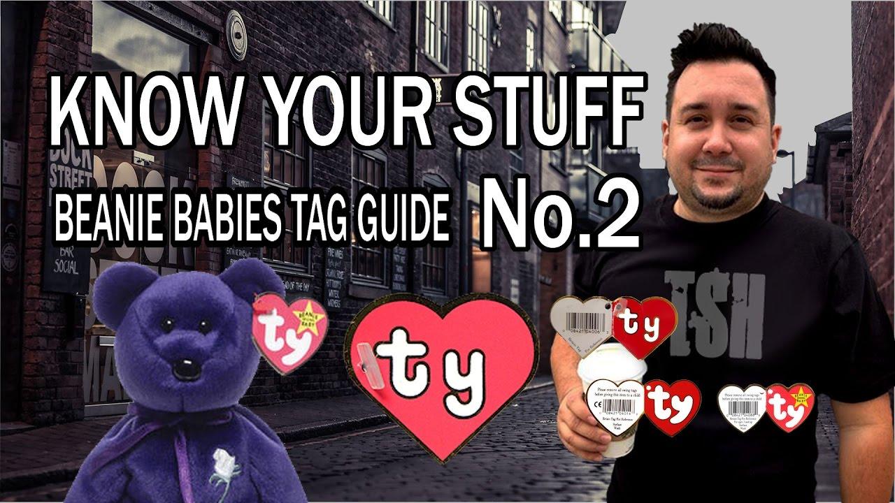 Know Your Stuff Beanie Babies Tag Generation Values for Garage Sales ... 32b68b11b6de