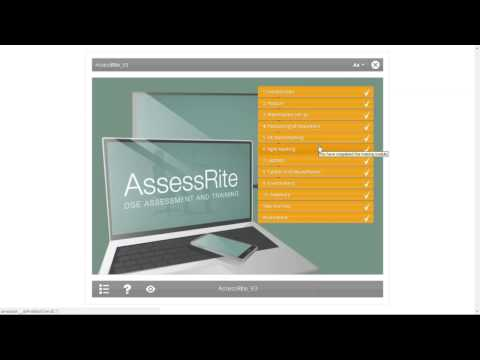 AssessRite 3.0 DSE training and assessment | Posturite Webinars