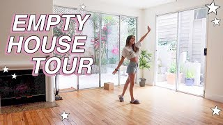 EMPTY HOUSE TOUR!!! my first home!!!