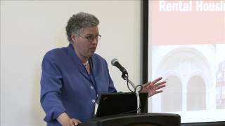 Cook County Board President Toni Preckwinkle: Rental Housing in the New Economy Thumbnail