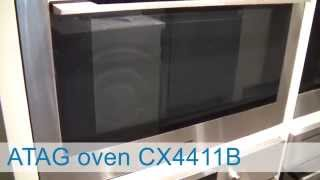 Video ATAG oven-magnetron inbouw CX4411B | De Schouw Witgoed
